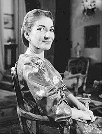 Maria Callas. Source: Wikipedia