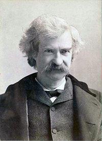 Mark Twain. Source: Wikipedia