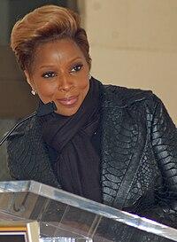 Mary J. Blige. Source: Wikipedia