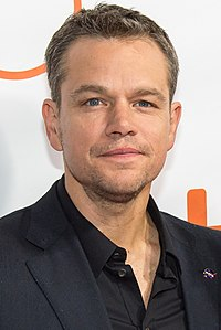 Matt Damon. Source: Wikipedia