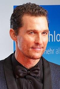 Matthew McConaughey. Source: Wikipedia
