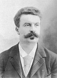 Guy de Maupassant. Source: Wikipedia