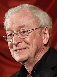Michael CAINE. Source: Wikipedia
