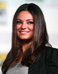 Mila Kunis. Source: Wikipedia