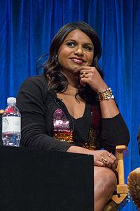 Mindy Kaling. Source: Wikipedia