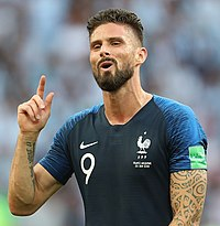 Olivier Giroud. Source: Wikipedia