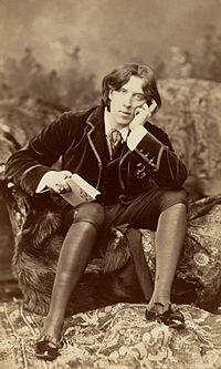 Oscar Wilde. Source: Wikipedia