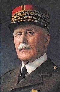 Philippe Pétain. Source: Wikipedia
