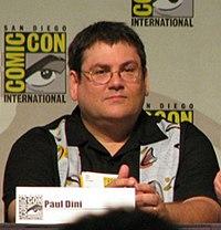Paul Dini. Source: Wikipedia