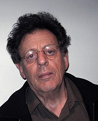 Philip Glass. Source: Wikipedia