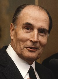 François Mitterrand. Source: Wikipedia