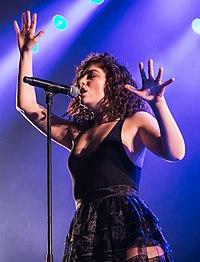 Lorde. Source: Wikipedia