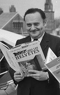 René Goscinny. Source: Wikipedia