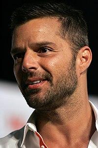 Ricky Martin. Source: Wikipedia