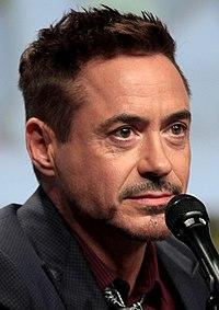 Robert Downey Jr. Source: Wikipedia