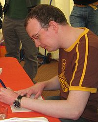 Robert Muchamore. Source: Wikipedia