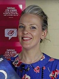 Sarah Crossan. Source: Wikipedia