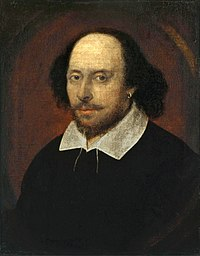 William Shakespeare. Source: Wikipedia