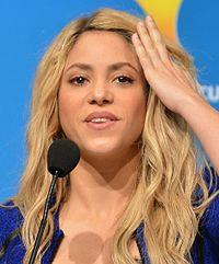 Shakira. Source: Wikipedia