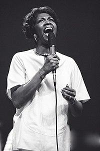 Cissy Houston. Source: Wikipedia