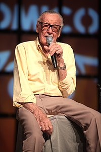 Stan Lee. Source: Wikipedia