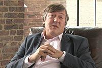 Stephen Fry. Source: Wikipedia