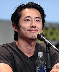 Steven Yeun. Source: Wikipedia
