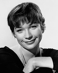 Shirley MacLaine. Source: Wikipedia