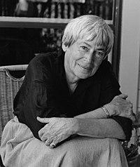 Ursula K LE GUIN. Source: Wikipedia
