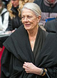 Vanessa Redgrave. Source: Wikipedia