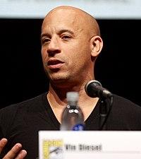 Vin Diesel. Source: Wikipedia