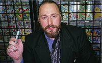 Warren Ellis. Source: Wikipedia