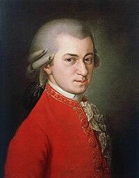 Wolfgang Amadeus Mozart. Source: Wikipedia