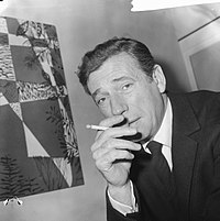 Yves Montand. Source: Wikipedia