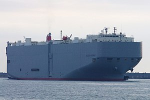 vessel Aegean Highway IMO: 9464388, Vehicles Carrier