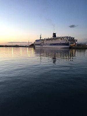 vessel Af Francesca IMO: 7602089, Passenger Ro Ro Cargo Ship