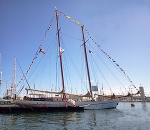 vessel Adornate IMO: 5023796, Sailing Vessel