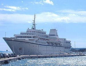 vessel Aegean Odyssey IMO: 7225910, Cruise Ship
