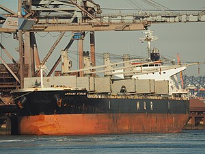 vessel African Starling IMO: 9636436, Bulk Carrier