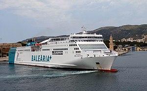 vessel Abel Matutes IMO: 9441130, Passenger Ro Ro Cargo Ship
