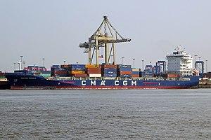 vessel Cma Cgm Pregolia IMO: 9745500, Container Ship