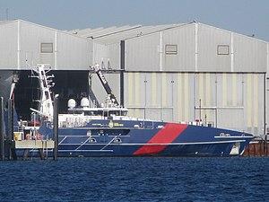 vessel Abfc Cape York IMO: 9684627, Patrol Vessel
