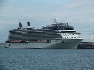 vessel Celebrity Eclipse IMO: 9404314, Cruise Ship