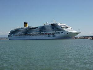vessel COSTA FAVOLOSA IMO: 9479852, Cruise Ship