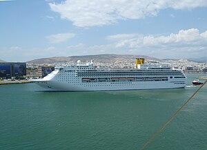 vessel Costa Victoria IMO: 9109031, Cruise Ship