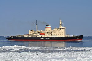 vessel Ermak IMO: 7330038, Icebreaker