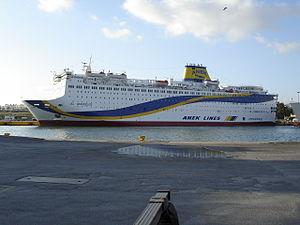 vessel El.venizelos IMO: 7907673, Passenger Ro Ro Cargo Ship