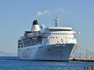 vessel Aegean Paradise IMO: 8902333, Cruise Ship