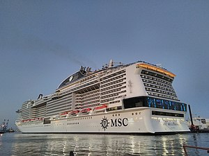 vessel Msc Bellissima IMO: 9760524, Cruise Ship