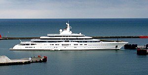 vessel ECLIPSE IMO: 1009613, Yacht (Service ship)